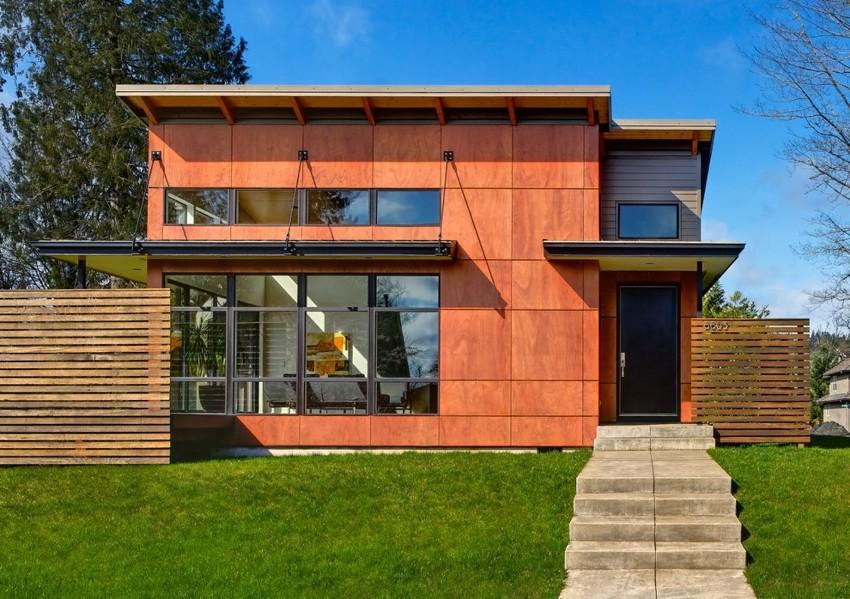 Внешняя облицовка фасада должна быть очень привлекательной, чтобы удачно вписываться в окружающую местность