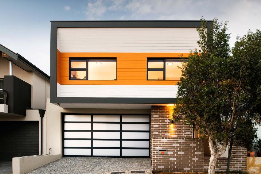Сайдинг активно используется с целью защиты наружных стен жилых зданий