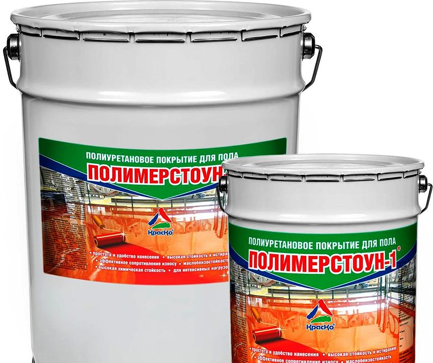 Краску «Полимерстоун-1» можно приобрести за 3,5 тыс. руб. за 7 литров
