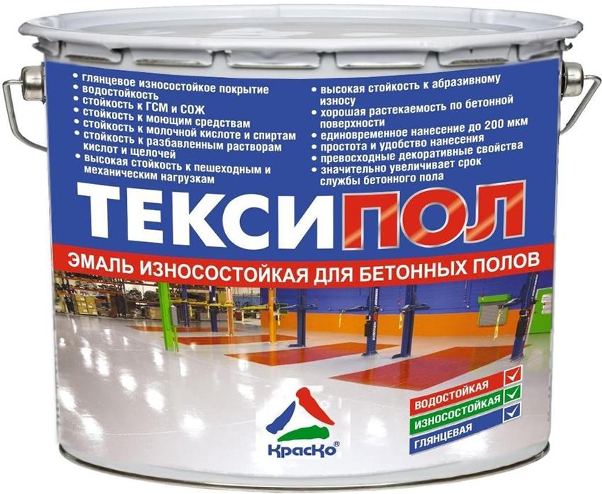 Смеси «Тексипол» подходят для обработки бетона, цемента и асфальта