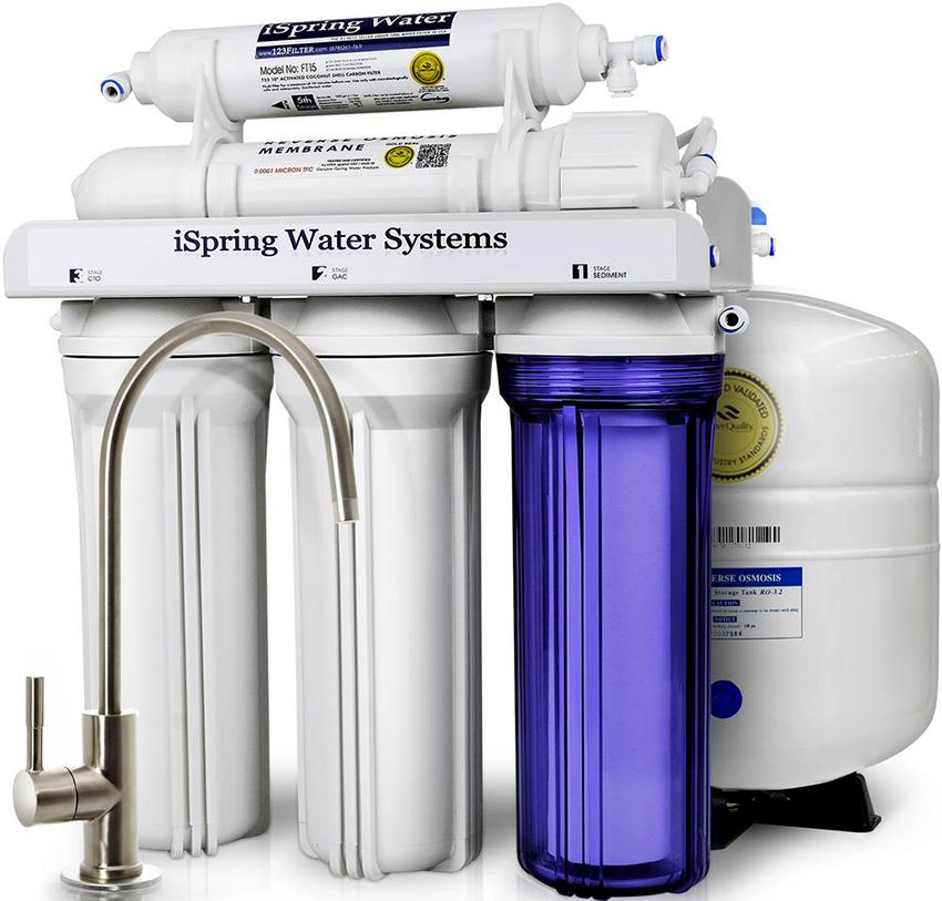 Магистральные фильтры позволяют получать чистую и безопасную воду