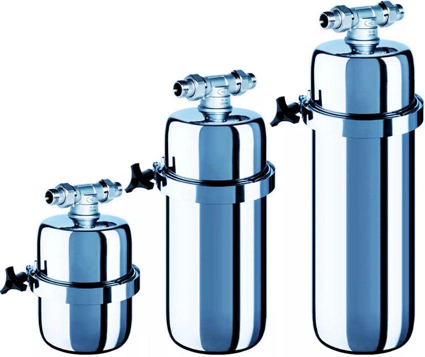 Фильтры для воды «Аквафор» имеют надежный корпус, которому не страшны перепады давления и температуры