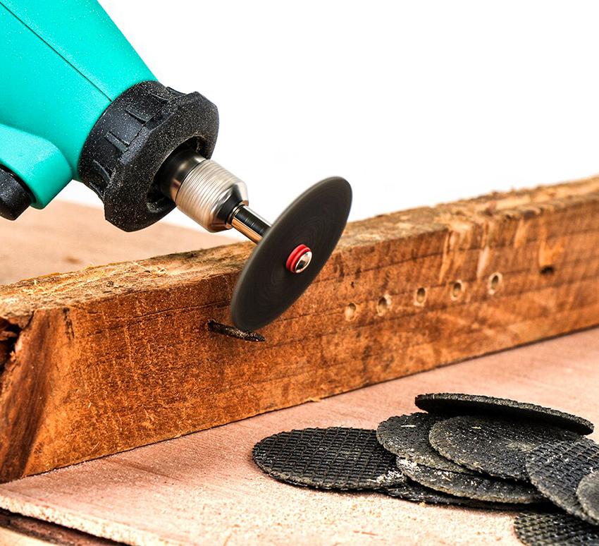 Дисковые насадки на дрель применяются для обработки металла и древесины