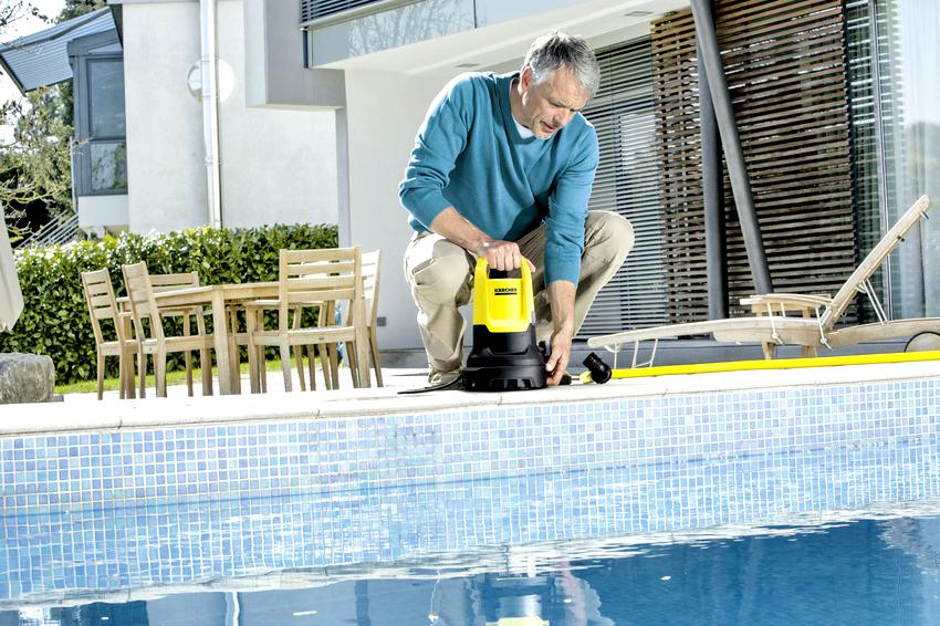 Глубина установки насоса определяется типом резервуара, чем ниже он опущен, тем эффективнее его работа