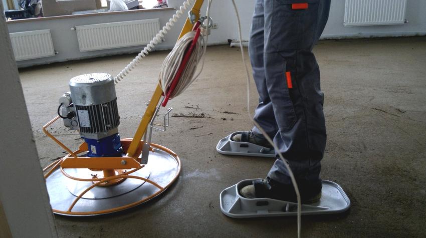 Услуги профессионала по ремонту бетонных полов будут стоить дороже, чем услуги любителя