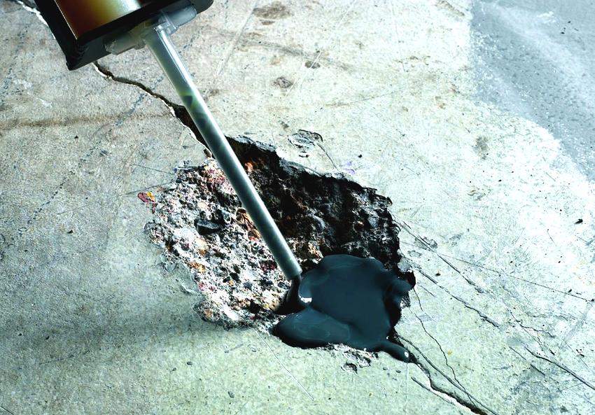Способ ремонта бетонного пола зависит от степени повреждения