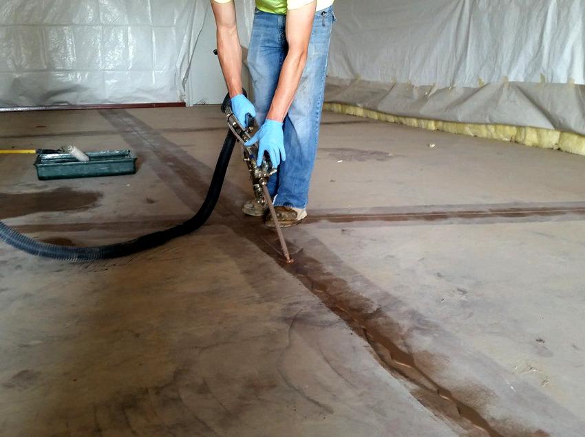 Поправка деформационных швов промышленных полов относится к серьезным ремонтным работам