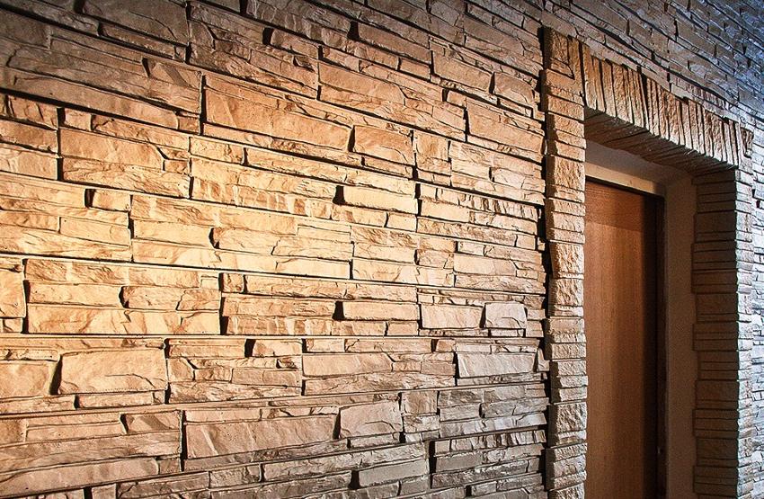 Наиболее точно воспроизвести вид природного камня способны панели из фиброцемента