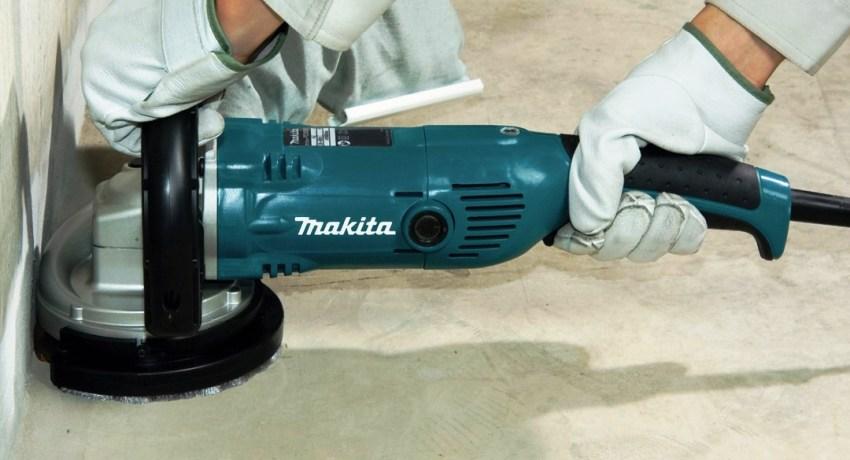 Шлифовка проводится после того, как бетонное покрытие наберет достаточную прочность