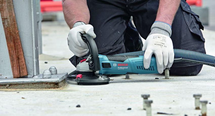 Шлифовка бетонного пола: секреты качественного выполнения работы