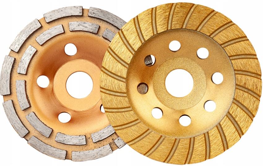 Шлифовальные диски для болгарки по бетону отличаются по строению и габаритам