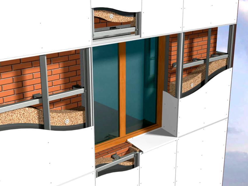 Утепление фасада сухим методом под сайдинг является одним из самых популярных