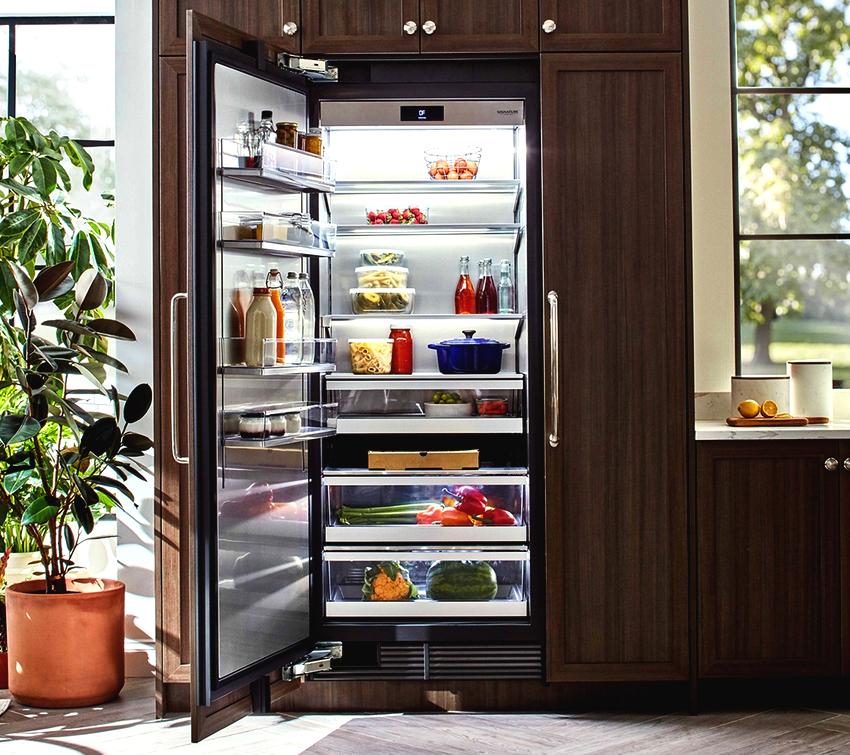 Отзывы пользователей о встраиваемых холодильниках в большинстве случаев положительные