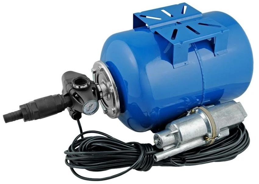 Для долговечной эксплуатации насосов «Малыш» крайне необходим гидроаккумулятор