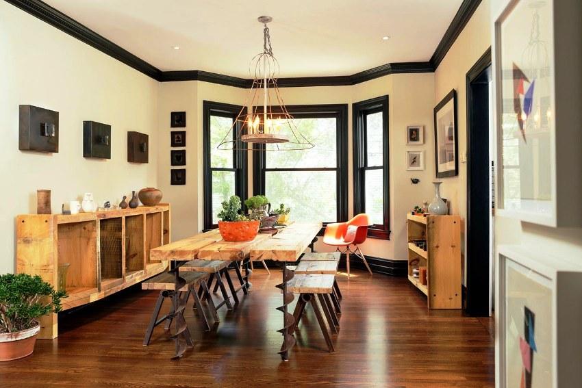Багет для натяжных потолков – это профиль, в котором надёжно фиксируется полотнище натяжного потолка