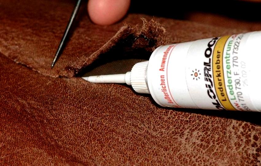 Для склеивания резиновых и кожаных изделий лучше использовать двухкомпонентные клеи