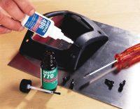 В быту цианоакрилатный клей используют для склеивания практически любых поверхностей