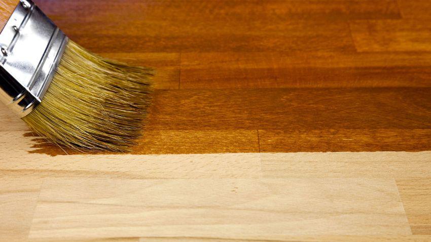 Морилку для дерева цвета орех можно использовать для тонирования любых деревянных изделий