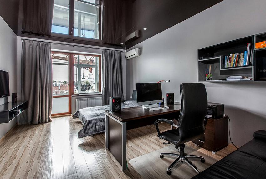 Цвет натяжного потолка должен подчеркивать дизайн комнаты и не раздражать жильцов