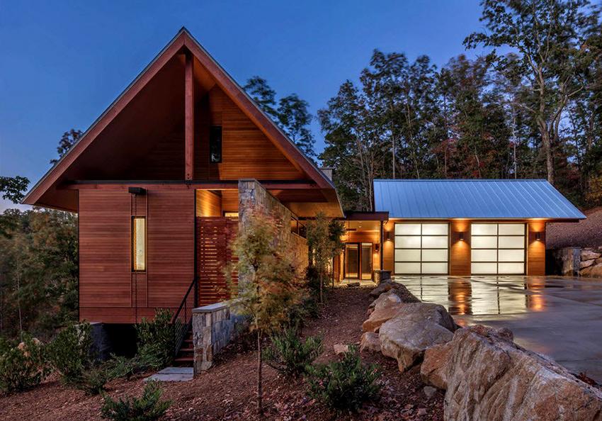Строительство каркасного дома выйдет дешевле и быстрее, чем кирпичного или блочного