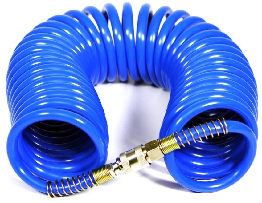 Быстросъемы для воздушных шлангов имеют односторонний клапан и резьбу
