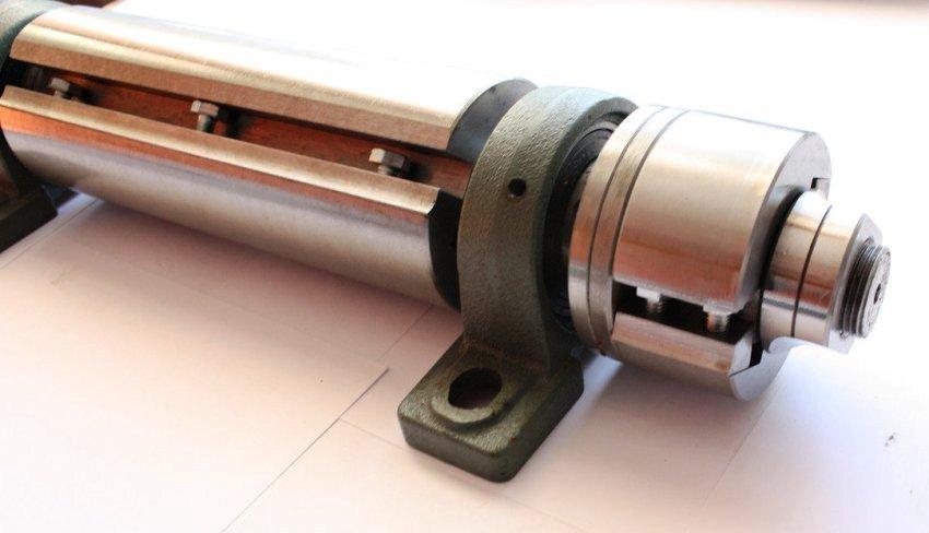 Диаметр заготовки должен соответствовать размерам пильных дисков