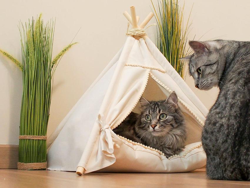 Материалы для домика должны быть качественными и натуральными