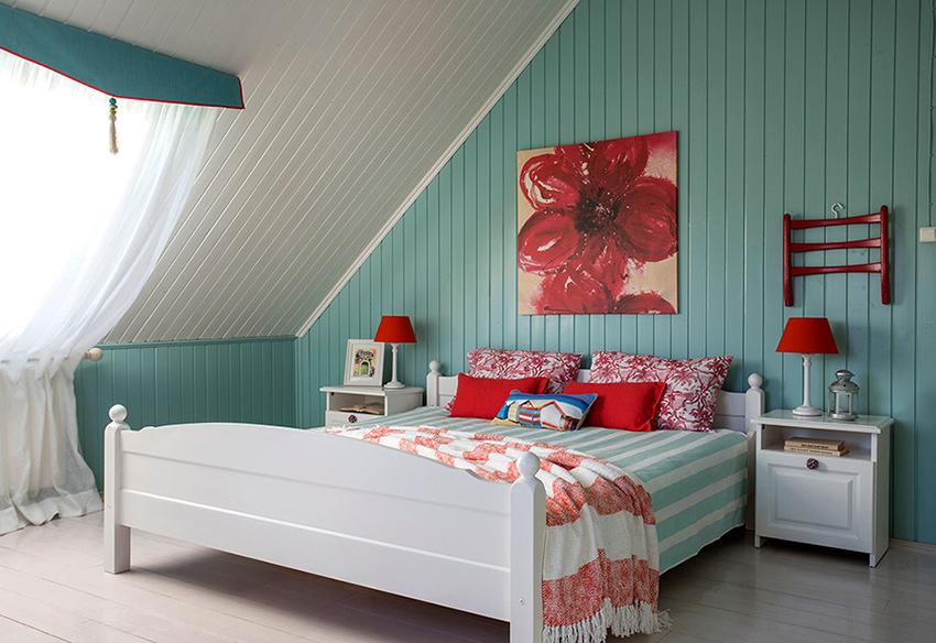 С помощью планкена можно отделать пол, потолок, стены и другие поверхности
