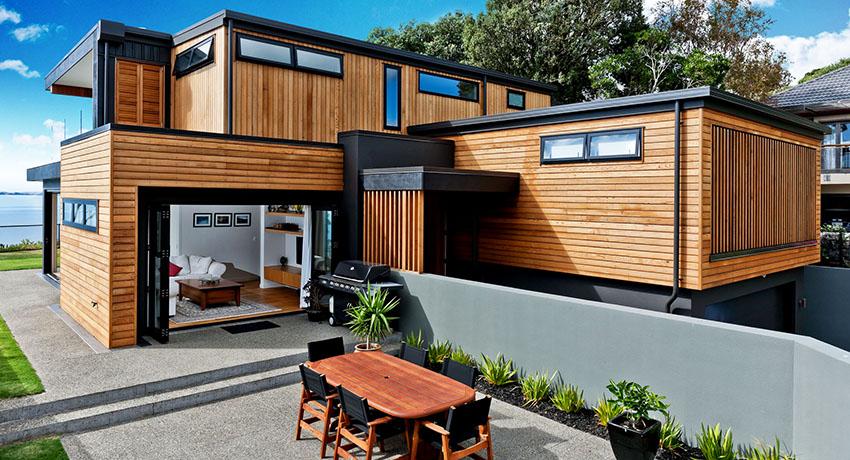 Фасадный планкен: современный материал для облицовки домов