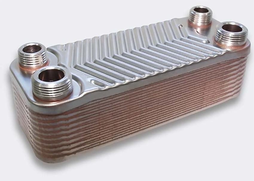 Теплообменник для газового котла отопления — это конструкция, внутри которой движется теплоноситель