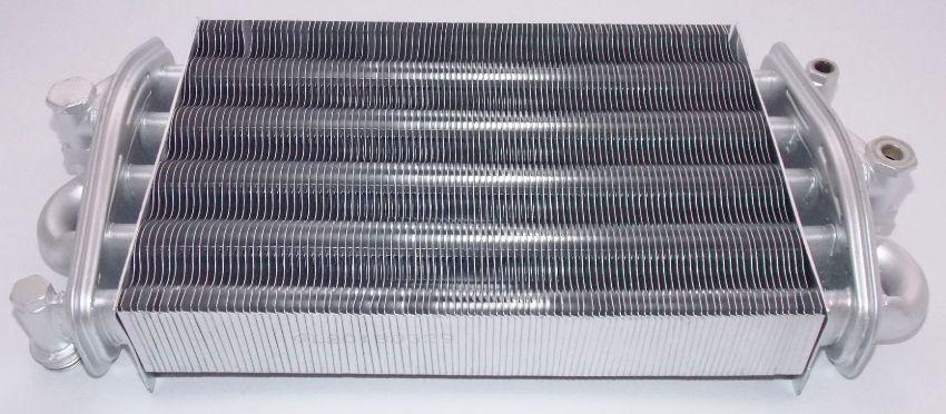 Современный стальной теплообменник для газового котла