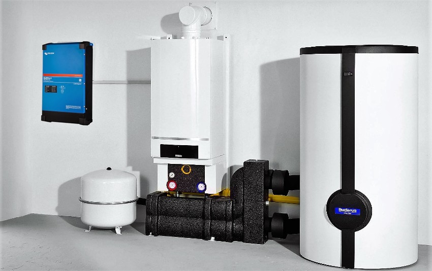 Топливом для котла является газ - метан или смесь пропана и бутана