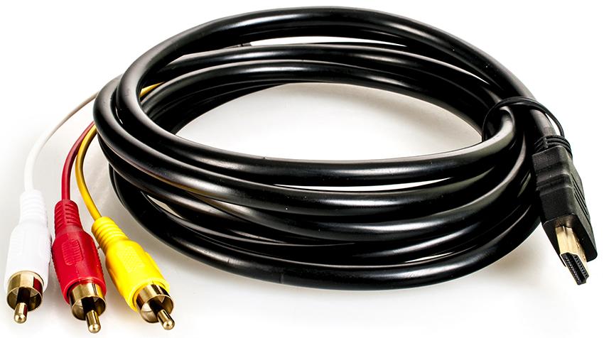 RCA-кабель имеет низкий уровень пропускной способности сигнала