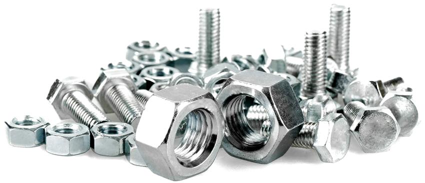 Дополнительные детали, такие как гайки, шайбы и болты, должны быть изготовлены из неоцинкованного металла