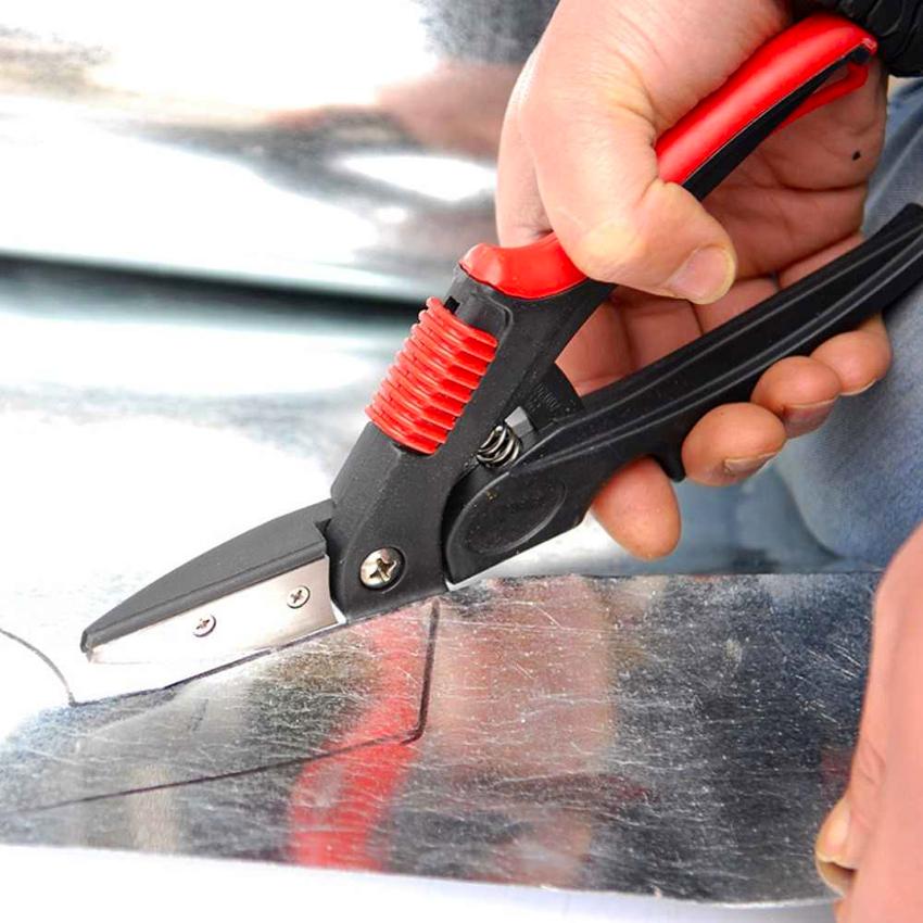 Самыми распространенными являются универсальные ножницы по металлу