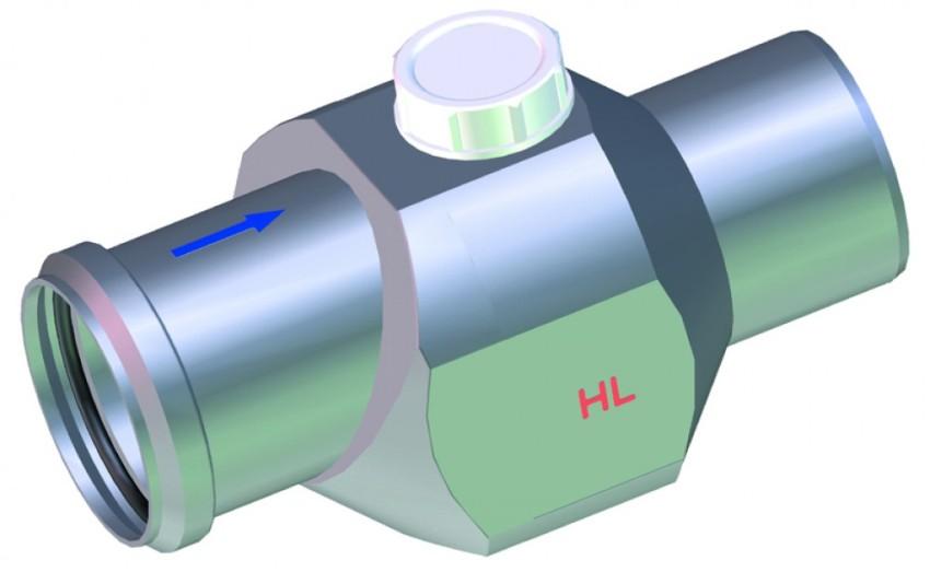 Обратные клапаны могут изготавливаться из чугуна и стали