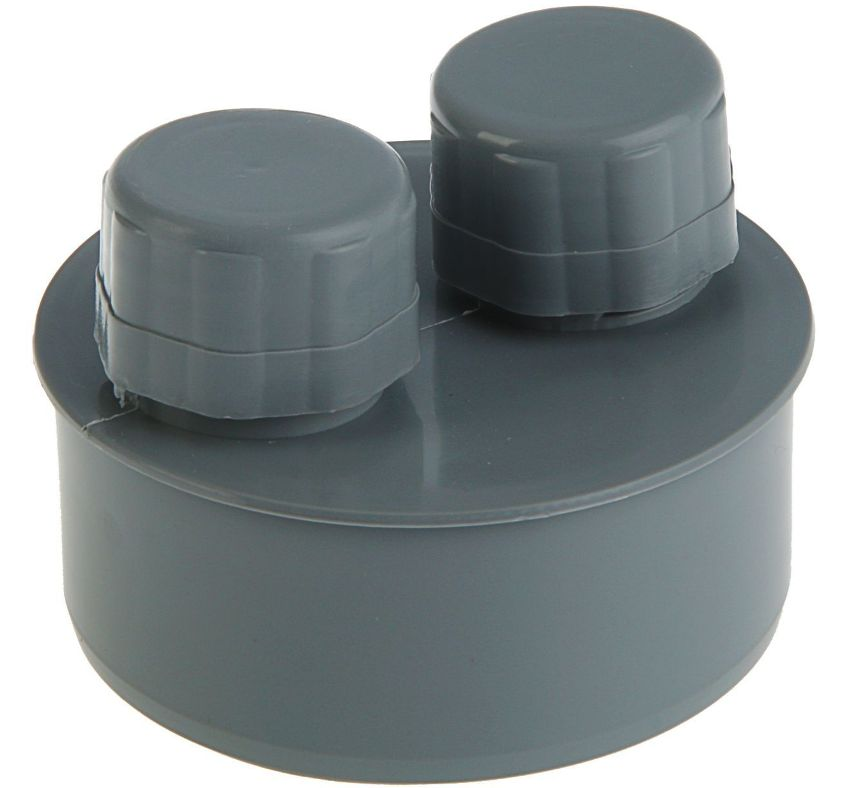 Фановый клапан 110 мм фиксируется только в вертикальном положении