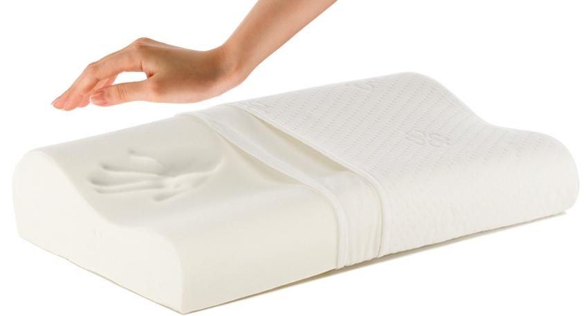 Подушки с эффектом памяти прогибаются лишь в тех местах, где произошло нагревание за счет соприкасания с телом