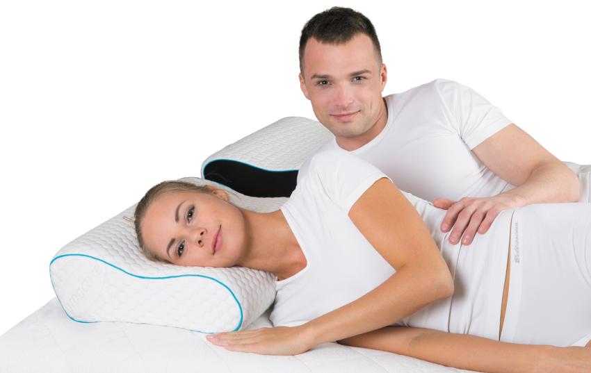 Наполнителем для подушек Magniflex memoform comfort является микропористый материал с эффектом запоминания