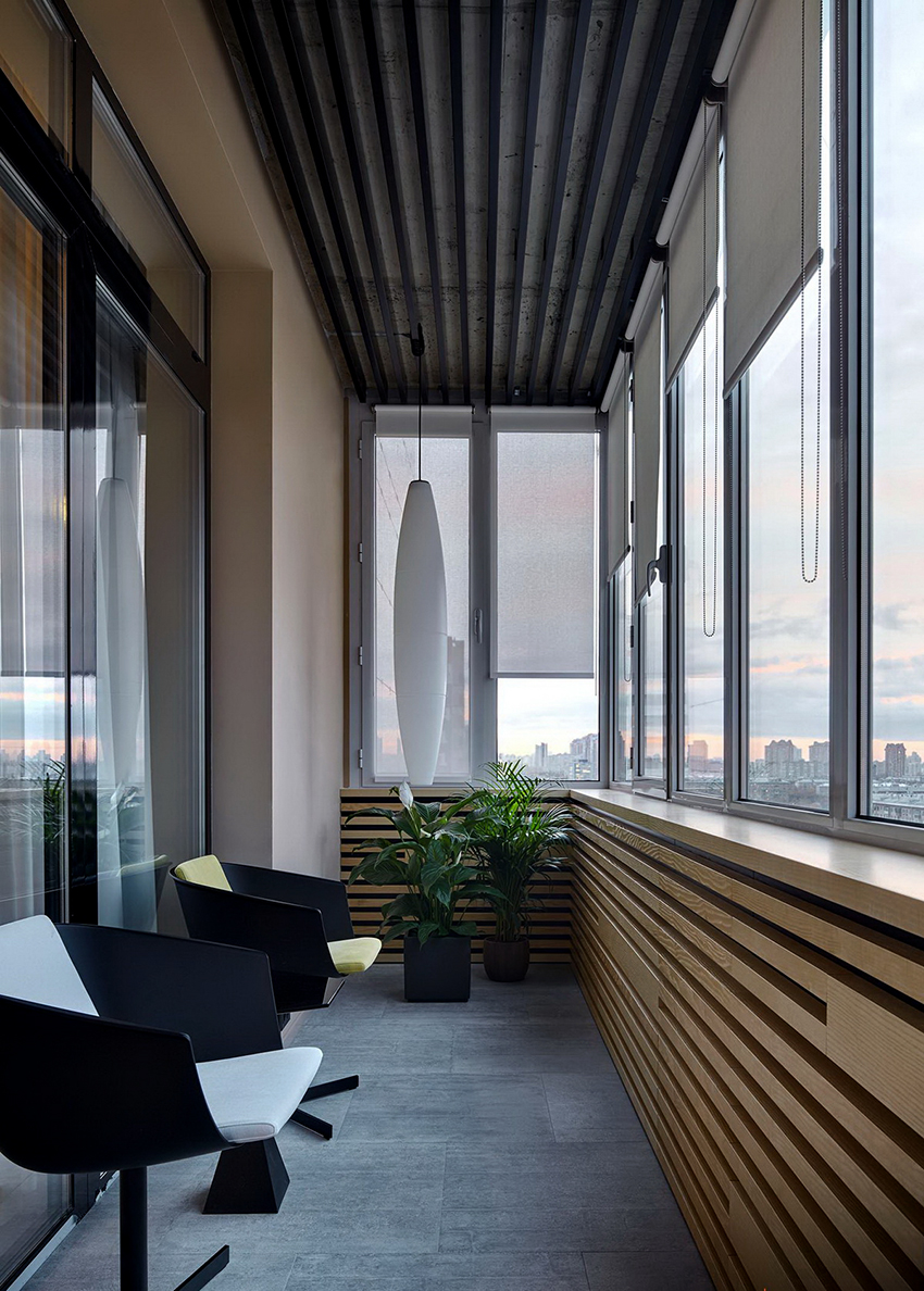 Лоджии и балконы могут различаться по расположению и конструкции