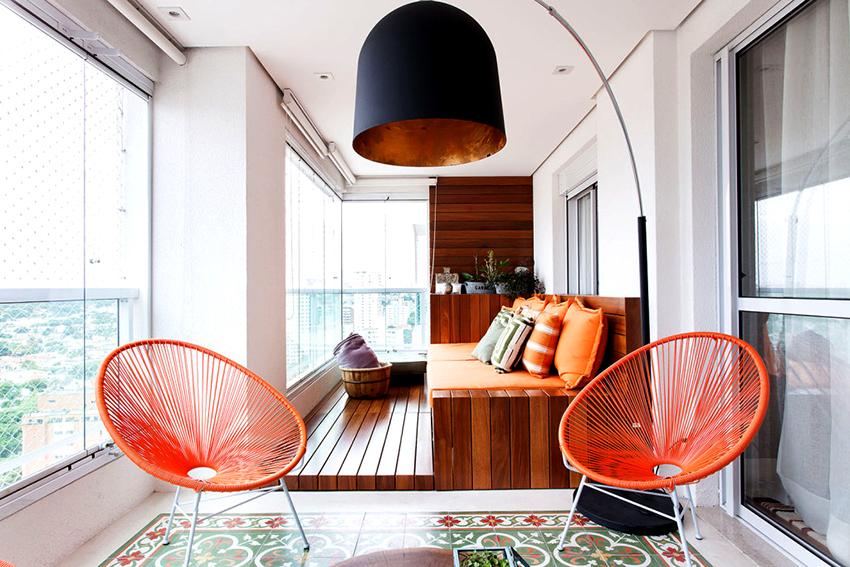 Перед тем как создавать интерьер балкона необходимо определиться с назначением помещения