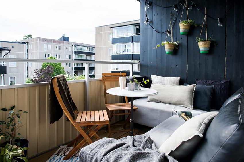 Немаловажным является выбор правильной мебели для балкона или лоджии