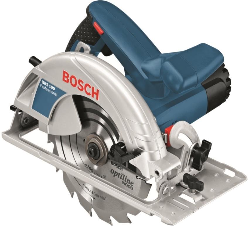 Циркулярная пила Bоsch GKS190 отличается высоким качеством и многофункциональностью