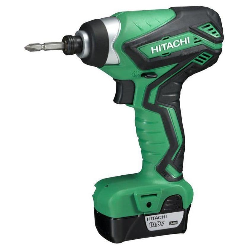 Аккумулятор для шуруповерта Hitachi имеет качественное сцепление с инструментом