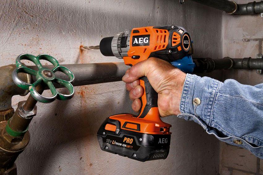 Немецкая компания AEG производит качественные и надежные инструменты