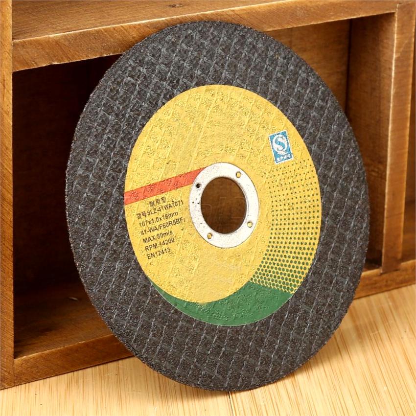 Абразивные отрезные диски на болгарку имеют диаметр 115-230 мм и толщину 1-3,2 мм