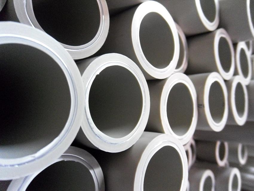Полипропиленовые трубы выпускаются с диаметрами в пределах от 2,15 до 7,8 см