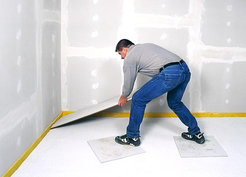 ГВЛ полотна применяются не только для строительных работ, но и для отделочных