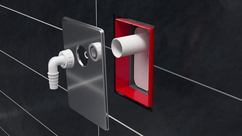 Подключение посудомоечной машины к водопроводу можно выполнить через сифон
