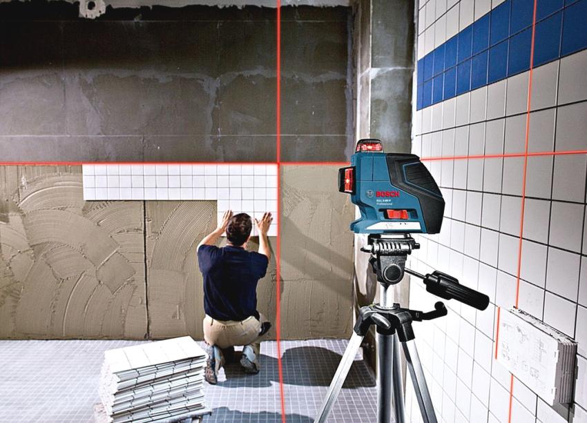 Лазерный нивелир GLL 3-80 Professional является наиболее функциональным устройством